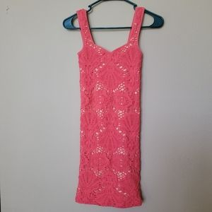 Intimately Free People Peach/Pink Bodycon dress